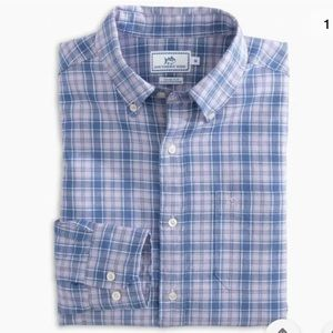 NWT Southern Tide Ocean Point Violet Fields Shirt